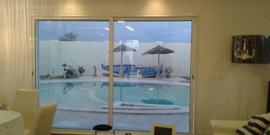 Charmante villa haute standing avec piscine à Mezraya Djerba à louer à l'année ou  pour vos vacances