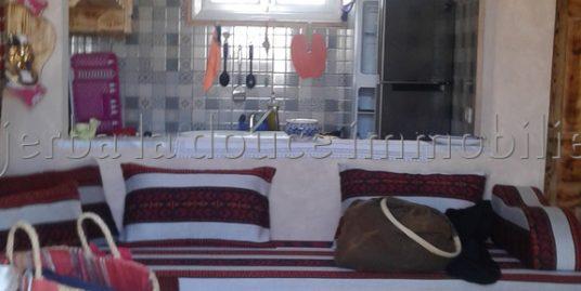 Charmante maison de style traditionnel berbère à louer à l'année à Mguerssa Midoun Djerba