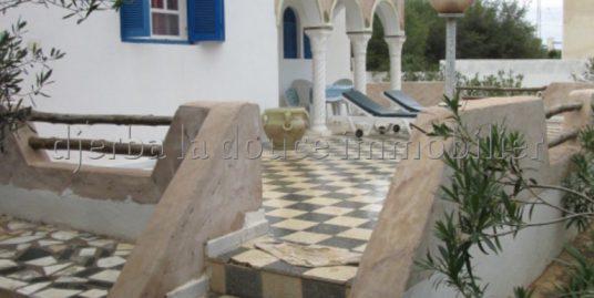 Appartement s+2 meublé au rez de chaussée à louer dans la zone touristique 4 proche mer à Djerba Midoun – Djerba