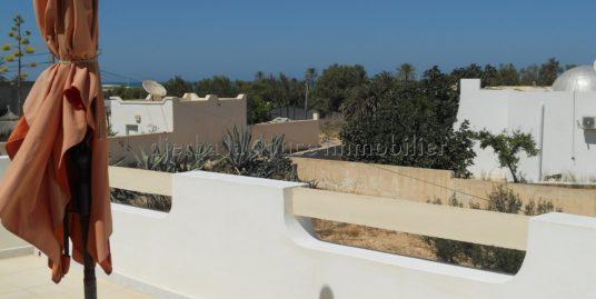Appartement meublé à louer à tézdaine Djerba proche la mer et la plage