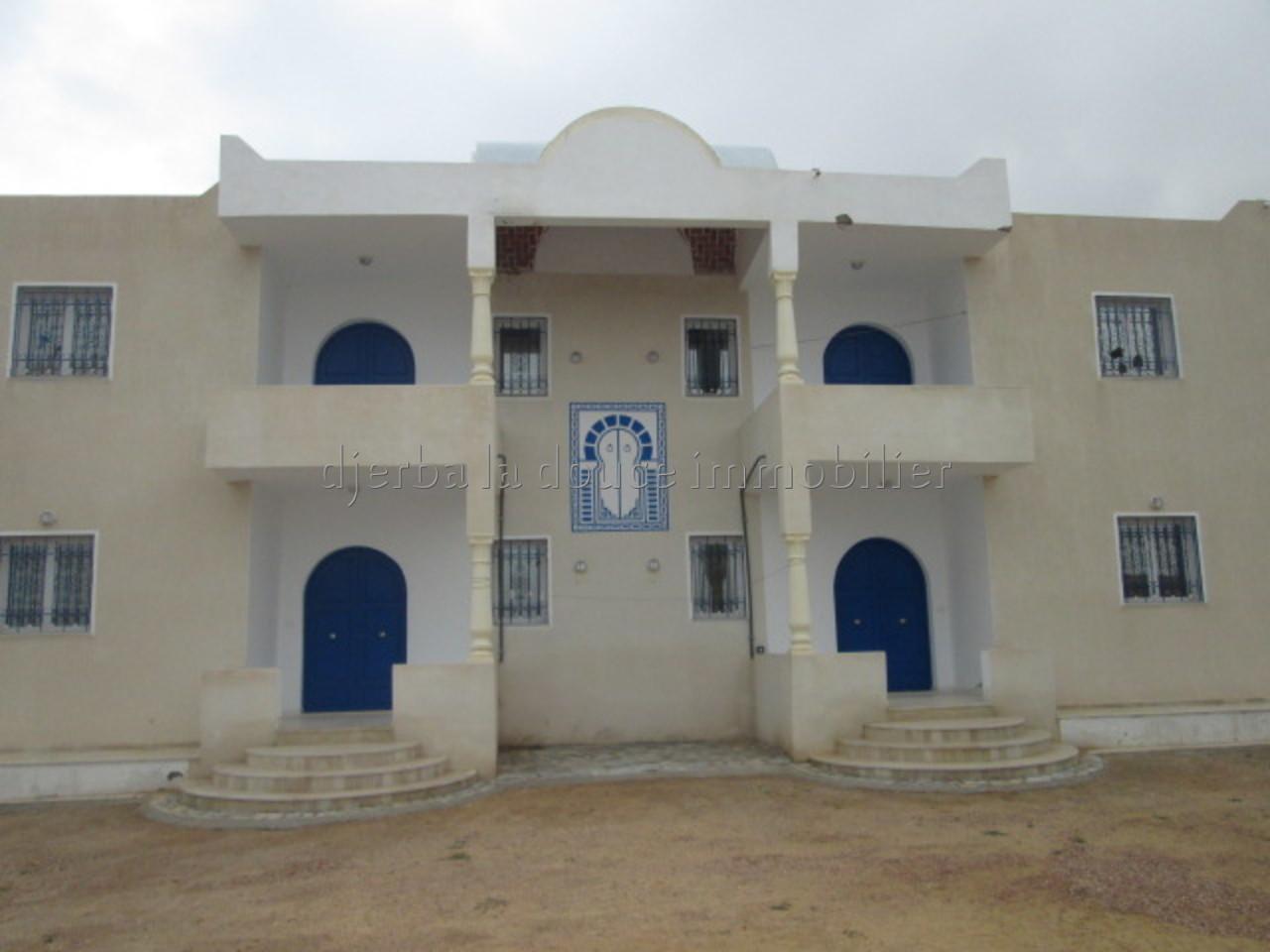 Résidence de 3 apprts à Arkou Djerba à louer pour les vacances