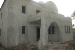 maison inachevée titrée en zone urbaine à vendre à Djerba Midoun
