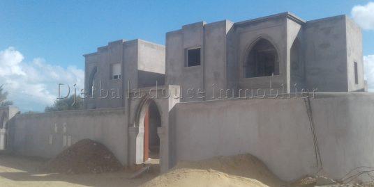 deux magnifiques  villas ZU , titré a vendre à midoun Djerba