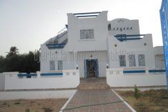 Jolie maison vue de mer pour location  à Djerba Arkou- Midoun