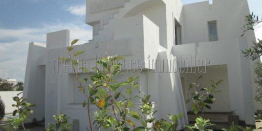 Villa titrée en ZU toute neuve à vendre à midoun zone touristique