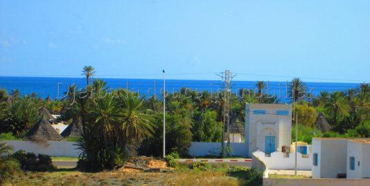 Spacieux appartement neuf vue de mer à louer à Djerba Midoun zone touristique Elmouradi