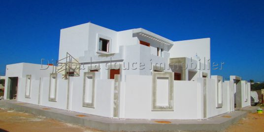 charmante villa s+3 toute neuve à vendre ZU à houmt souk– Djerba