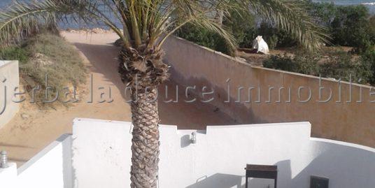 villa avec vue de mer panoramique haut standing au zone touristique AGHIR
