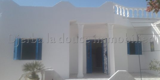 villa sans meuble avec belle vue de mer et de lagune à tezdaine