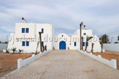Projet d'une maison d'hôte à louer proche  mer de Sidi Jmour Djerba