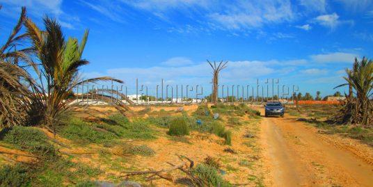 Terrain à vendre à Beni Bendou route Sidi Salem Djerba
