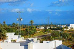 grande villa vue de mer avec piscine a tézdaine Djerba