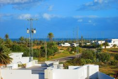 Grande villa vue de mer avec piscine à Tézdaine Djerba