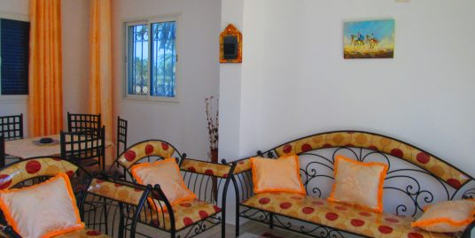 Petite maison s+1 meublée vu mer à louer à l'année ou pour vos vacances à Tézdaine Djerba Midoun