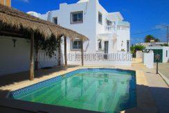 Villa avec piscine à louer sans meuble à l'année à Djerba Midoun Sidi Soufiène
