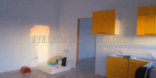 Appartement à louer meublé en  s+1  vue mer zone touristique Djerba  Midoun