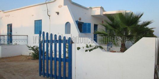 Maison meublée  bord de mer à louer à l'année à Djerba Midoun proche club med