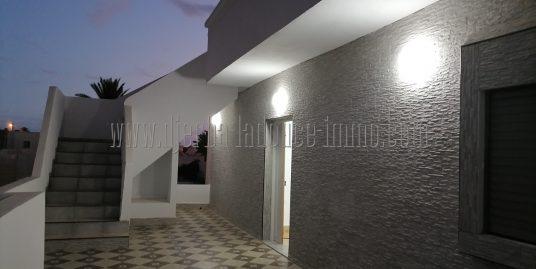 Appartement meublé recensement construite vue de mer à louer à l'année  à Tézdaine Djerba Midoun