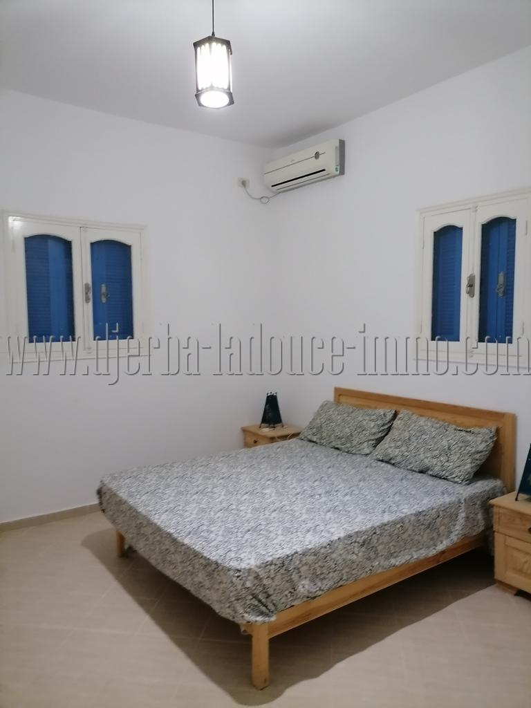 Maison à louer meublée à l'année à Djerba MidounTézdaine