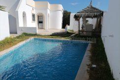 Villa meublée s+3 avec piscine à louer à l'année à Djerba Midoun Temlel