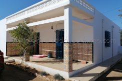 maison plain pied titrée en zone agricole à vendre à Mahboubine Djerba Midoun – Djerba –
