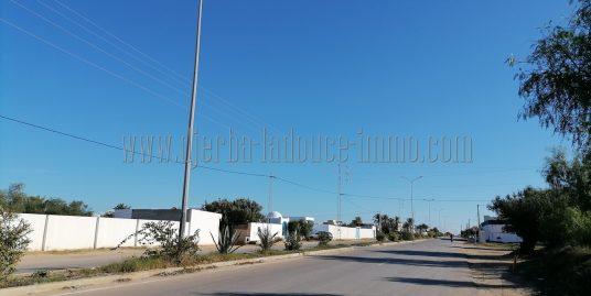 Lots des terrains  commerciales titrés à vendre proche rond point le rendez vous Zone touristique Djerba Midoun