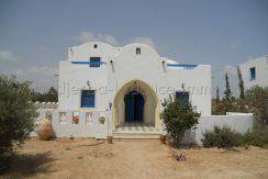 Villa meublée avec piscine commune à Tézdaine
