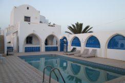 Villa Récente Avec Piscine À Louer Meublée À L'année À Djerba Midoun Tézdaine