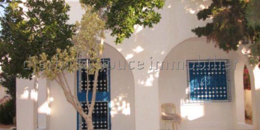 Belle Villa meublée à louer à l'année à Tezdaine -Midoun – Djerba
