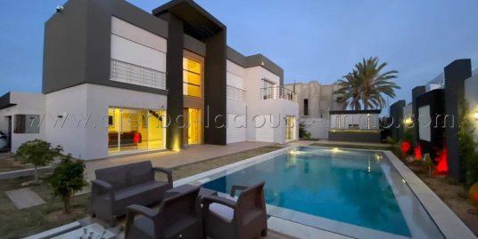 Des Belles Villas de luxe avec des Equipements de haut standing à louer à Djerba