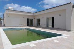 Jolie Villa Titrée avec piscine à vendre à Djerba-Yati