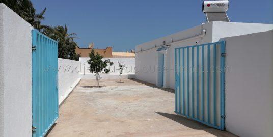 Une spacieuse maison sans meuble à louer à l'année à Mguersa – Djerba Midoun
